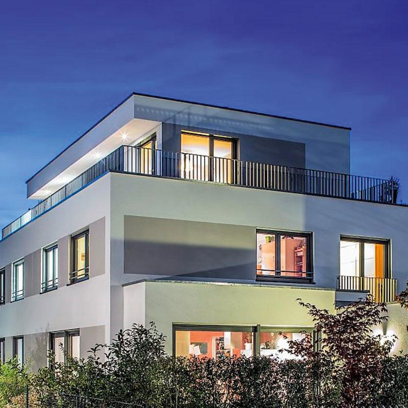 Modernes Doppelhaus in Perlach